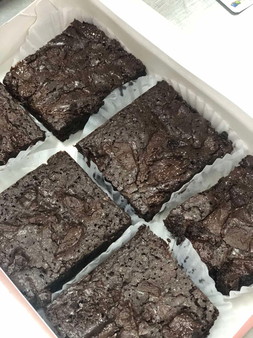 Soft Dark Brownies