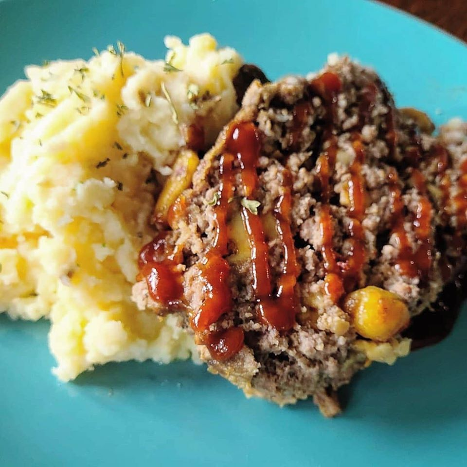 Ultimate Cheese Meatloaf