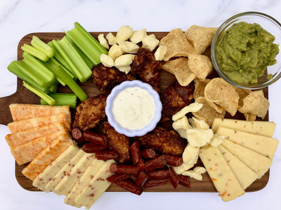 Wisconsin Cheese Charcuterie--Gameday