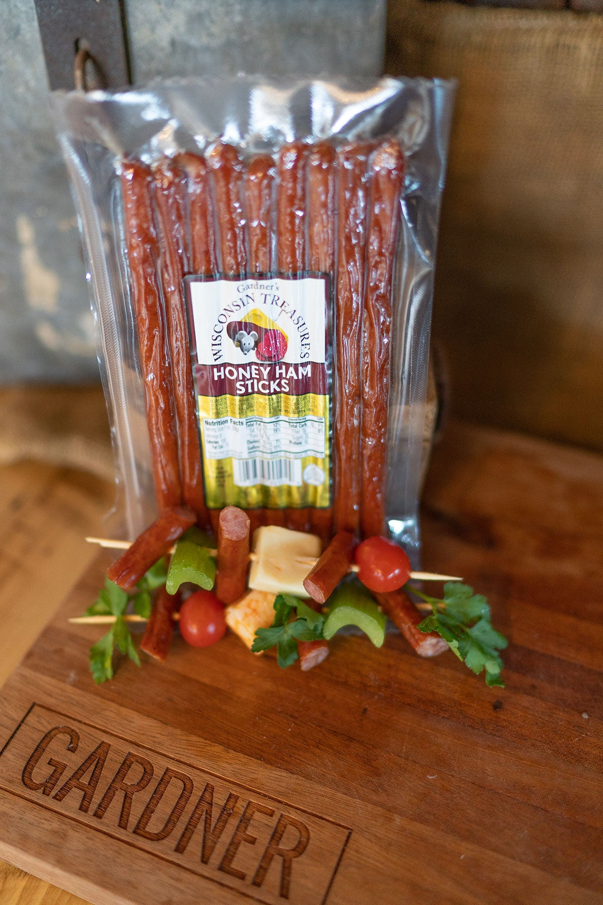 Honey Ham Snack Sticks - Gardners Wisconsin Cheese and Sausage