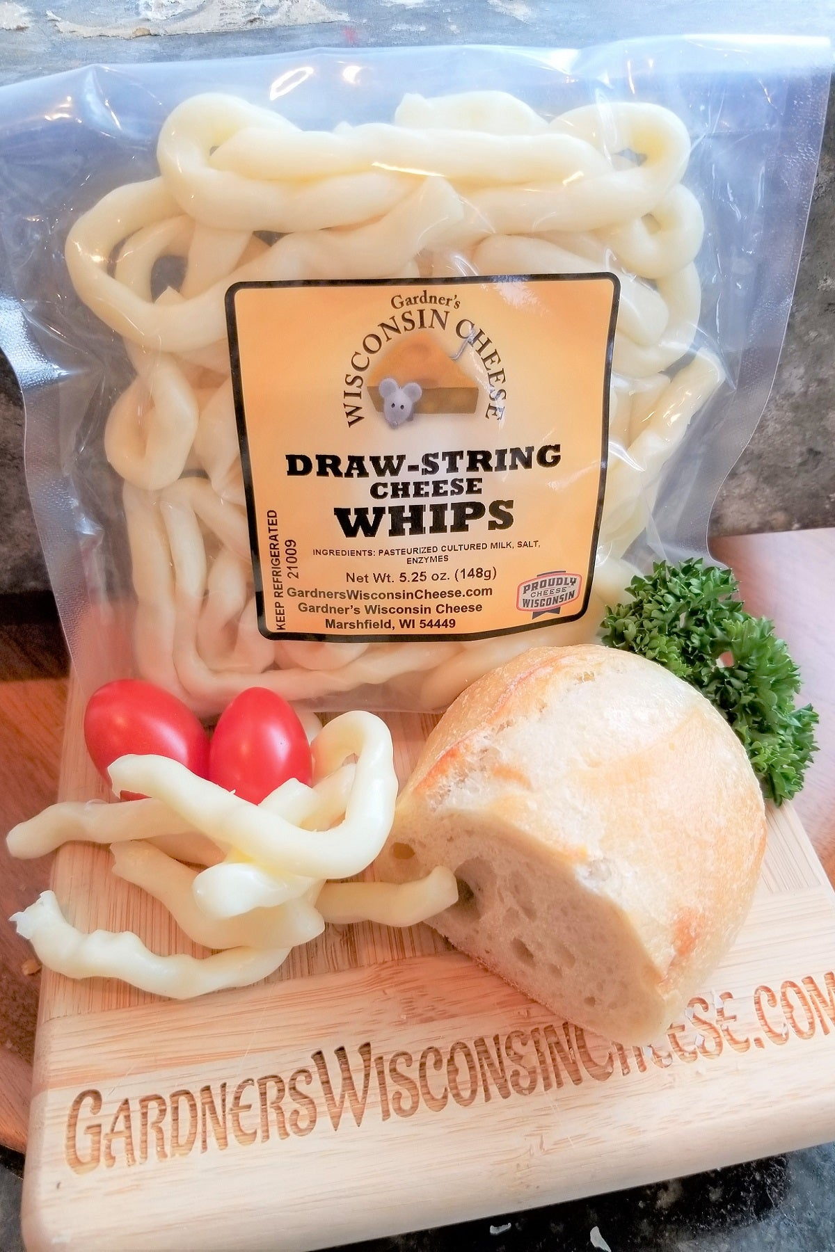 Draw-String-Cheese Whips