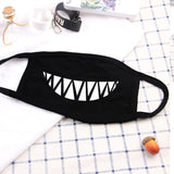 1PC Fashion Cotton Dustproof Mouth Face Mask Anime Cartoon Lucky  Expression Women Men  Face Mouth Masks Couple Mask
