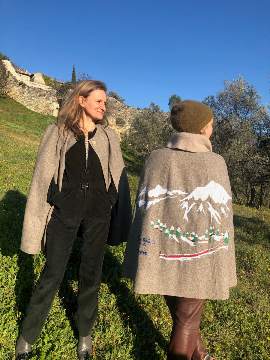Collaboration: Kilometre Paris x Anne Willi Cape
