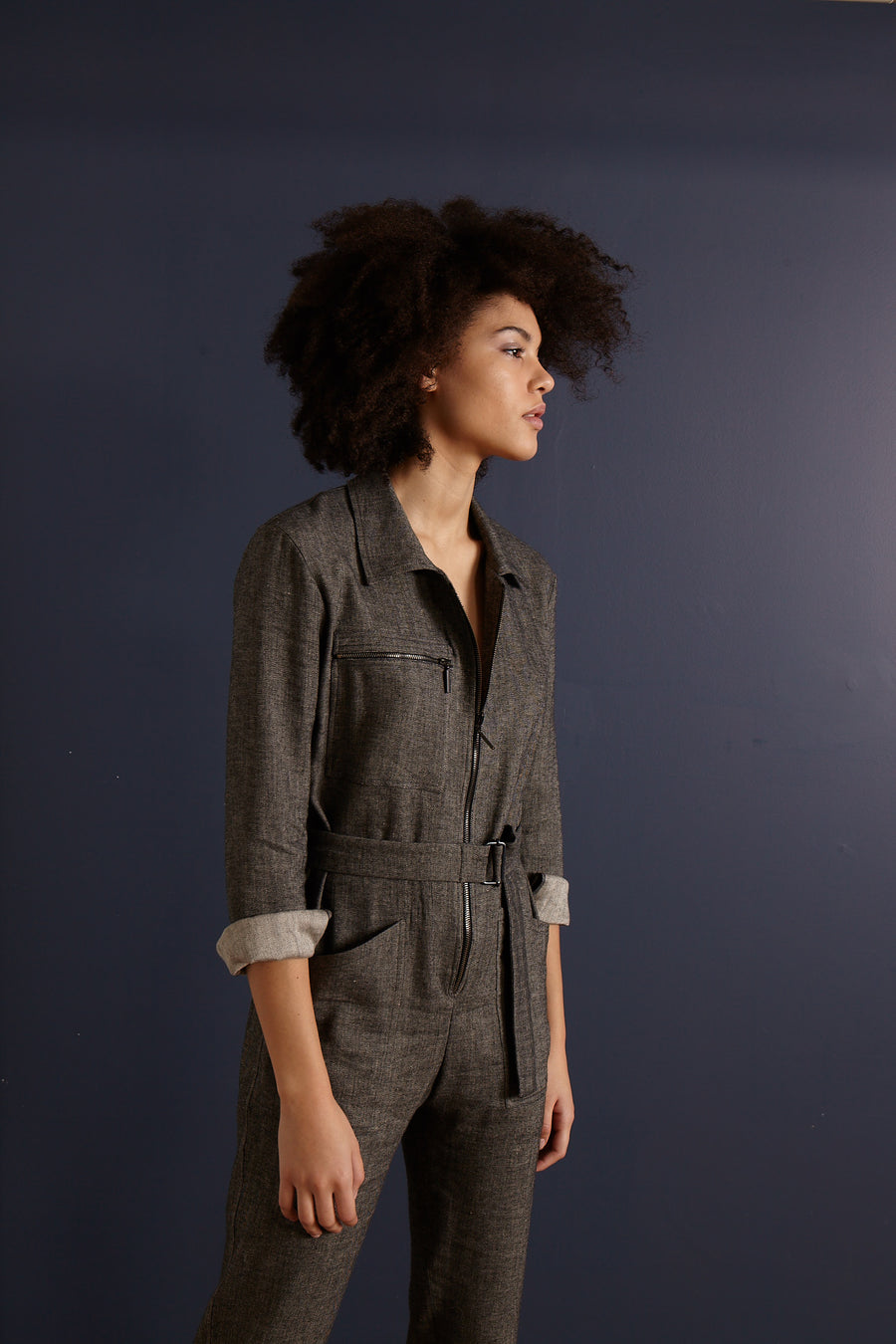 AMSTERDAM Grey Jumpsuit