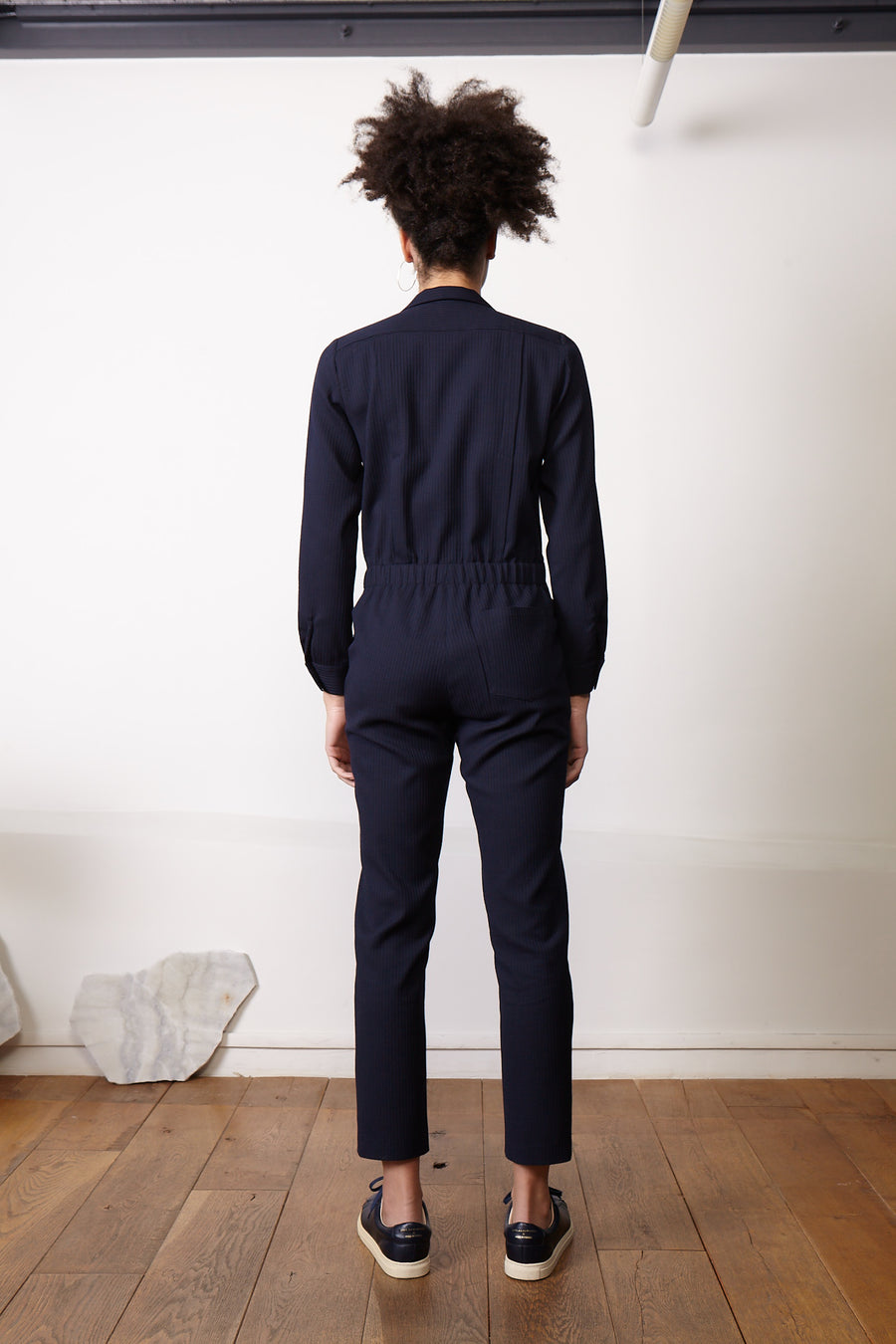 BUDAPEST Navy Jumpsuit