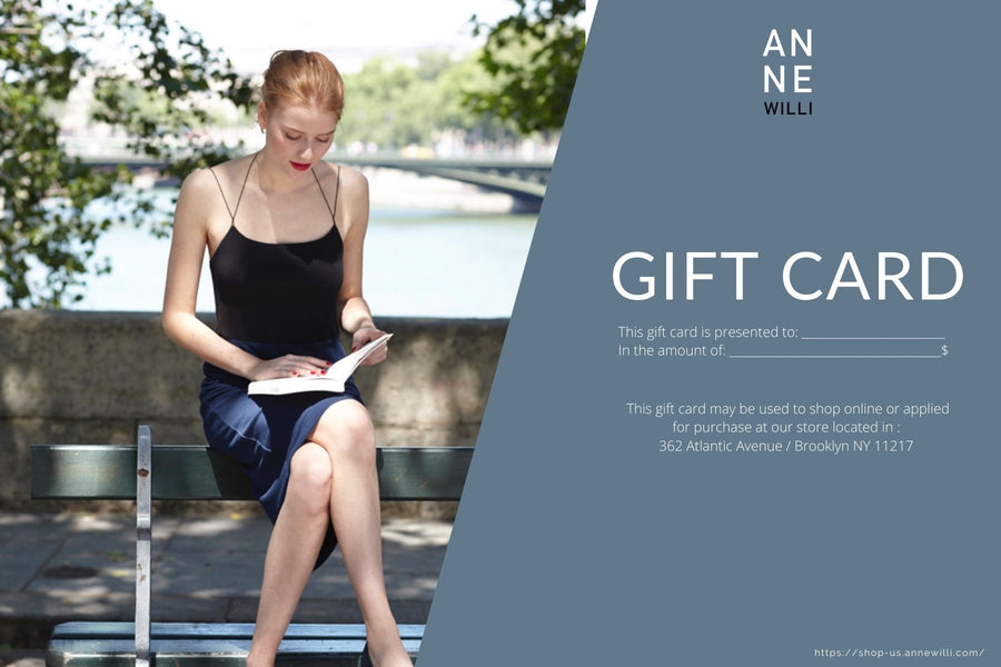 ANNE WILLI Gift Card