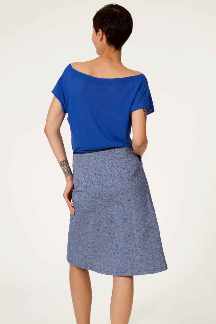 TIBRE Blue Skirt