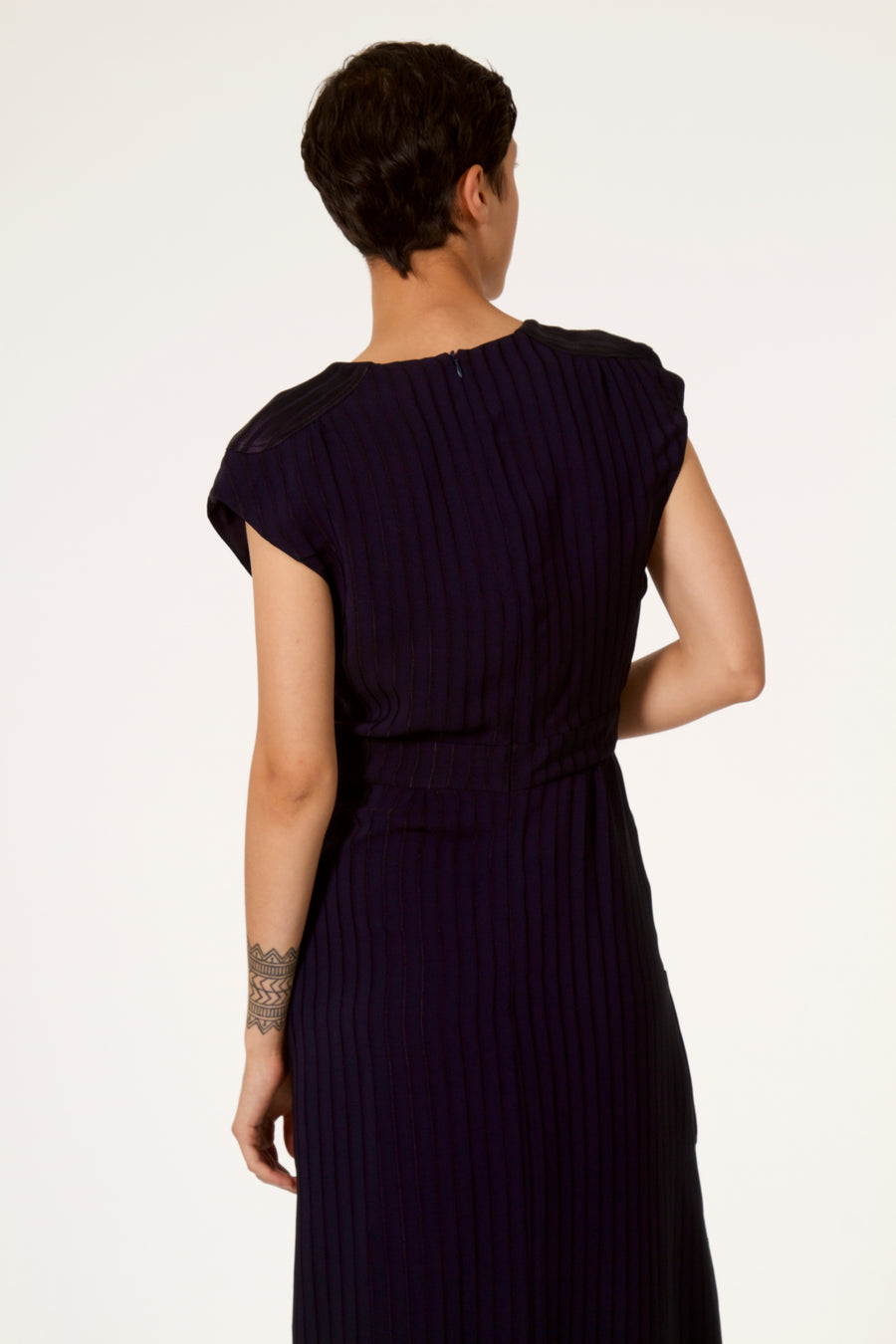 AMOUR Navy Dress
