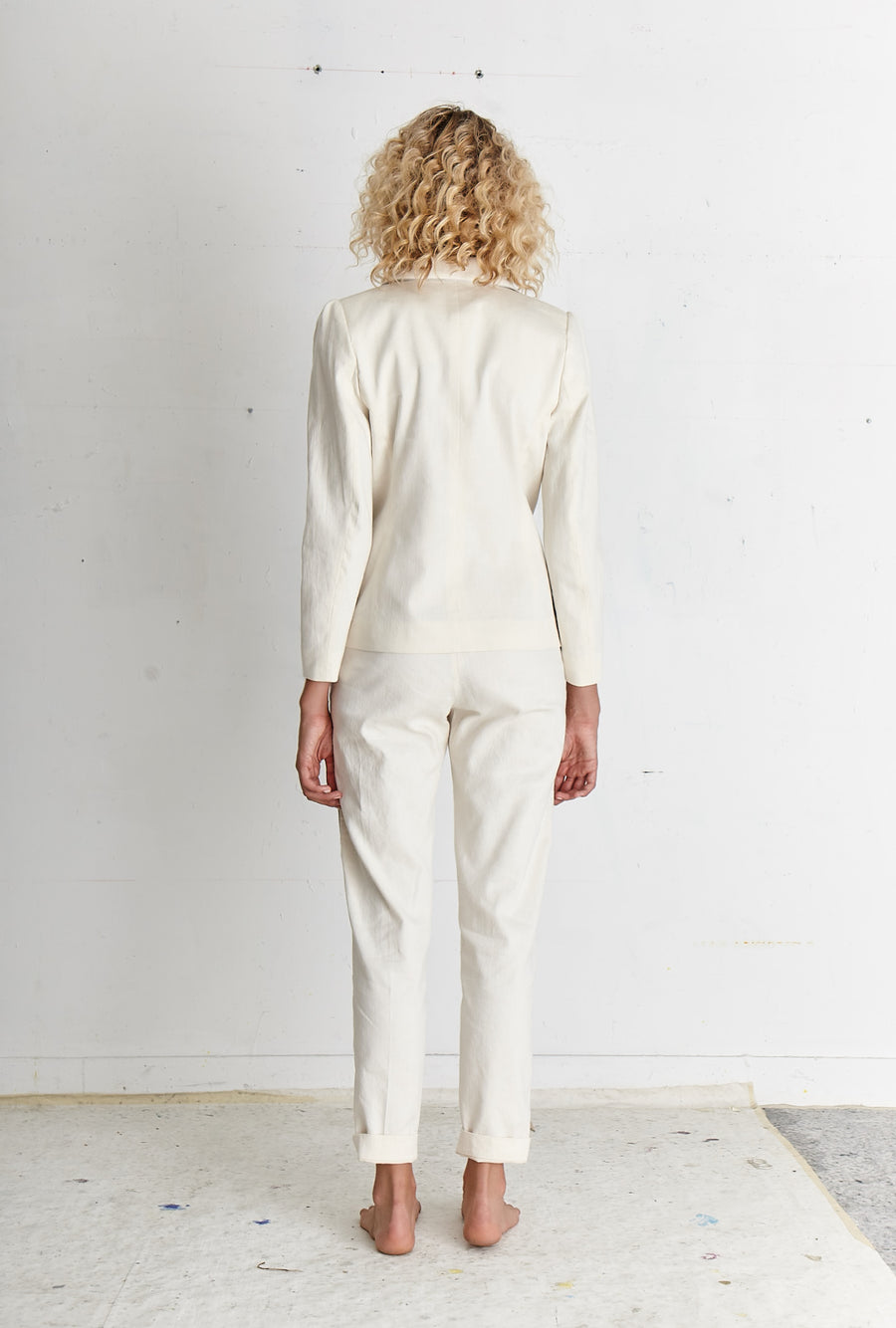 LARS Off-White Pants