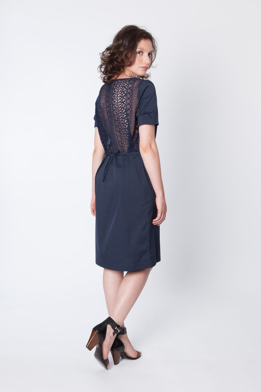 TARIM Navy Dress