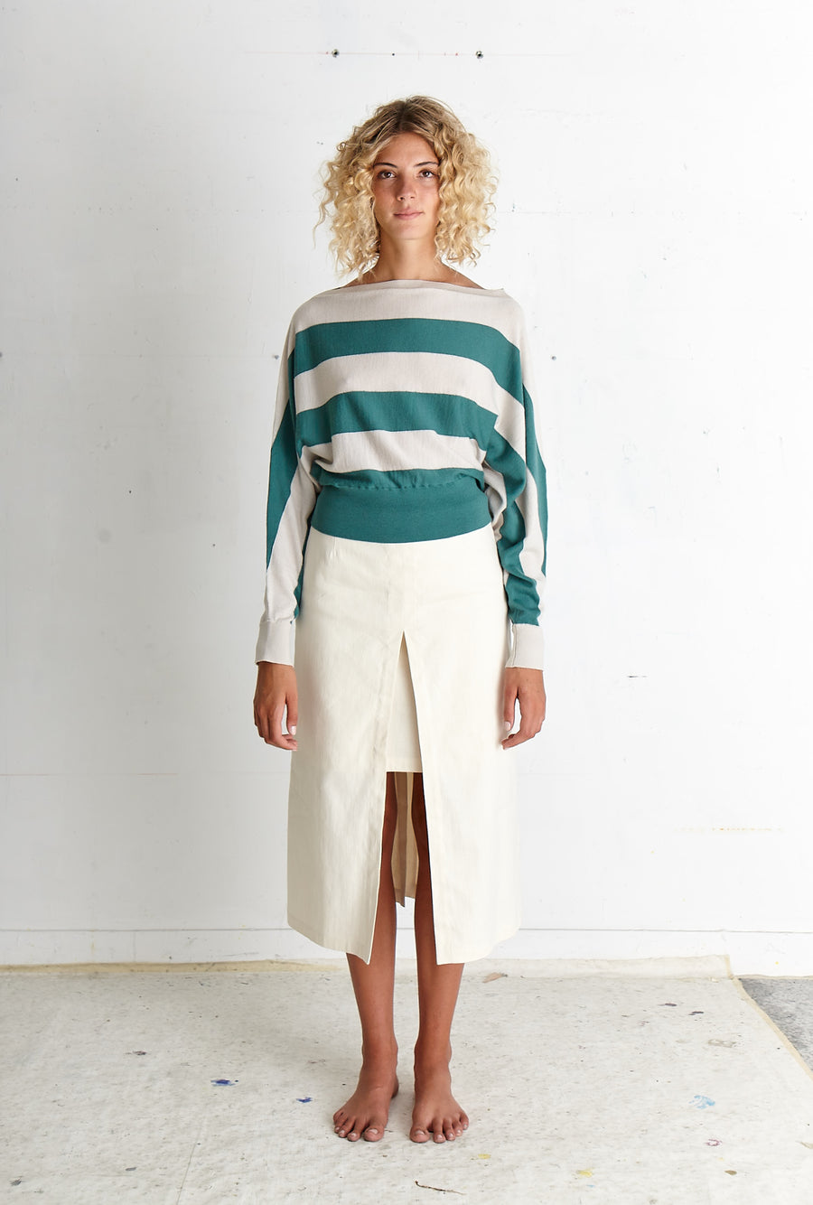 LAPIS Off-White Skirt