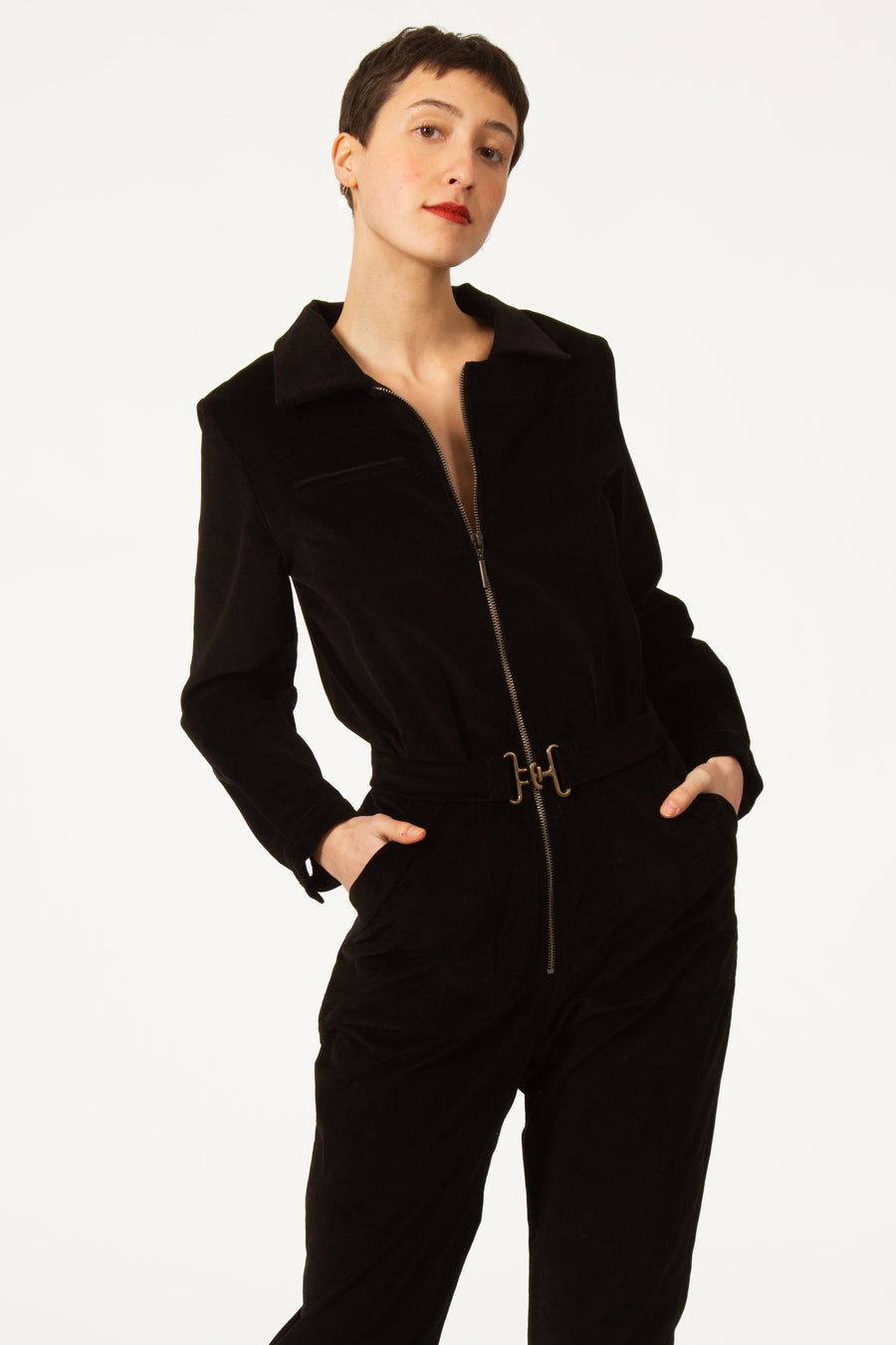 KARLO Black Jumpsuit