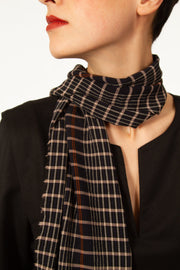 NAEL Checked Scarf