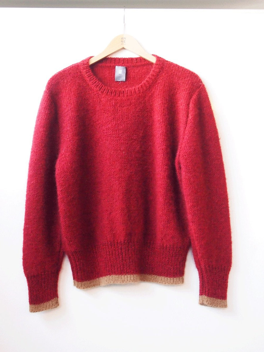 FLORENCE Rust Sweater
