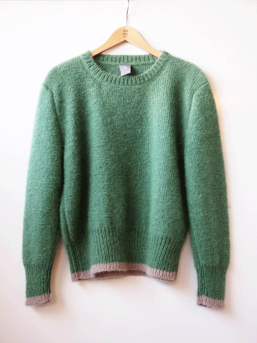 FLORENCE Green Sweater