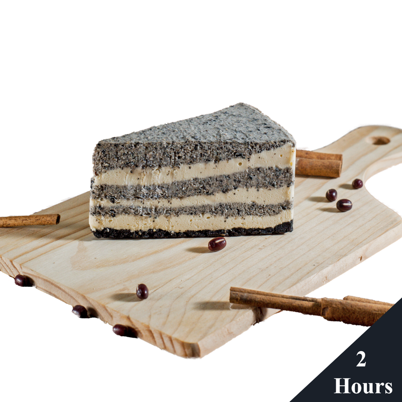 black sesame cheese