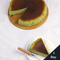 matcha burnt cheesecake