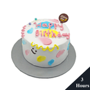 Korean Ins Style Birthday Cake