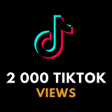 2 000 TikTok Views