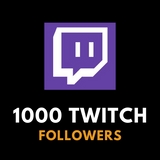 1 000 Twitch Followers