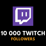 10 000 Twitch Followers