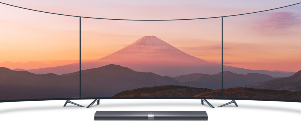 Curved TVs are affordable now. Uvea Curved TVs