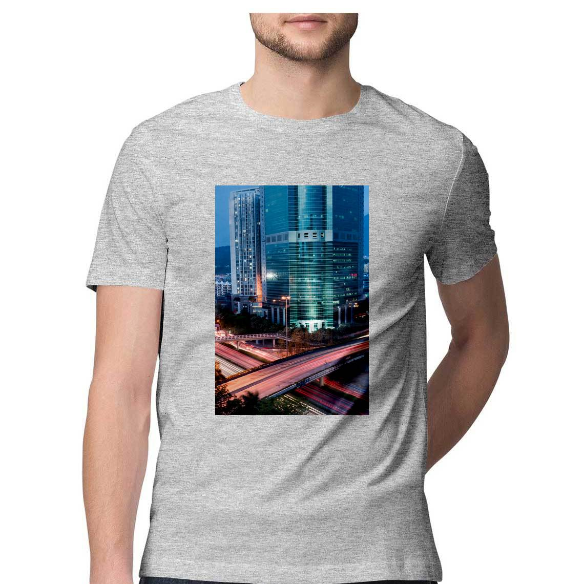 T-shirt round neck city vibes lovers.