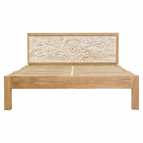Bed ( Wooden ) — Dahlia Carved
