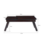 Laptop table folding - Wooden—  SLATE2