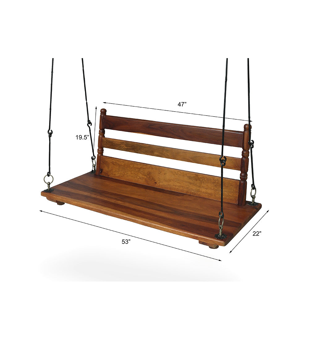 Swing for porch wooden jhula —  SUPYAR