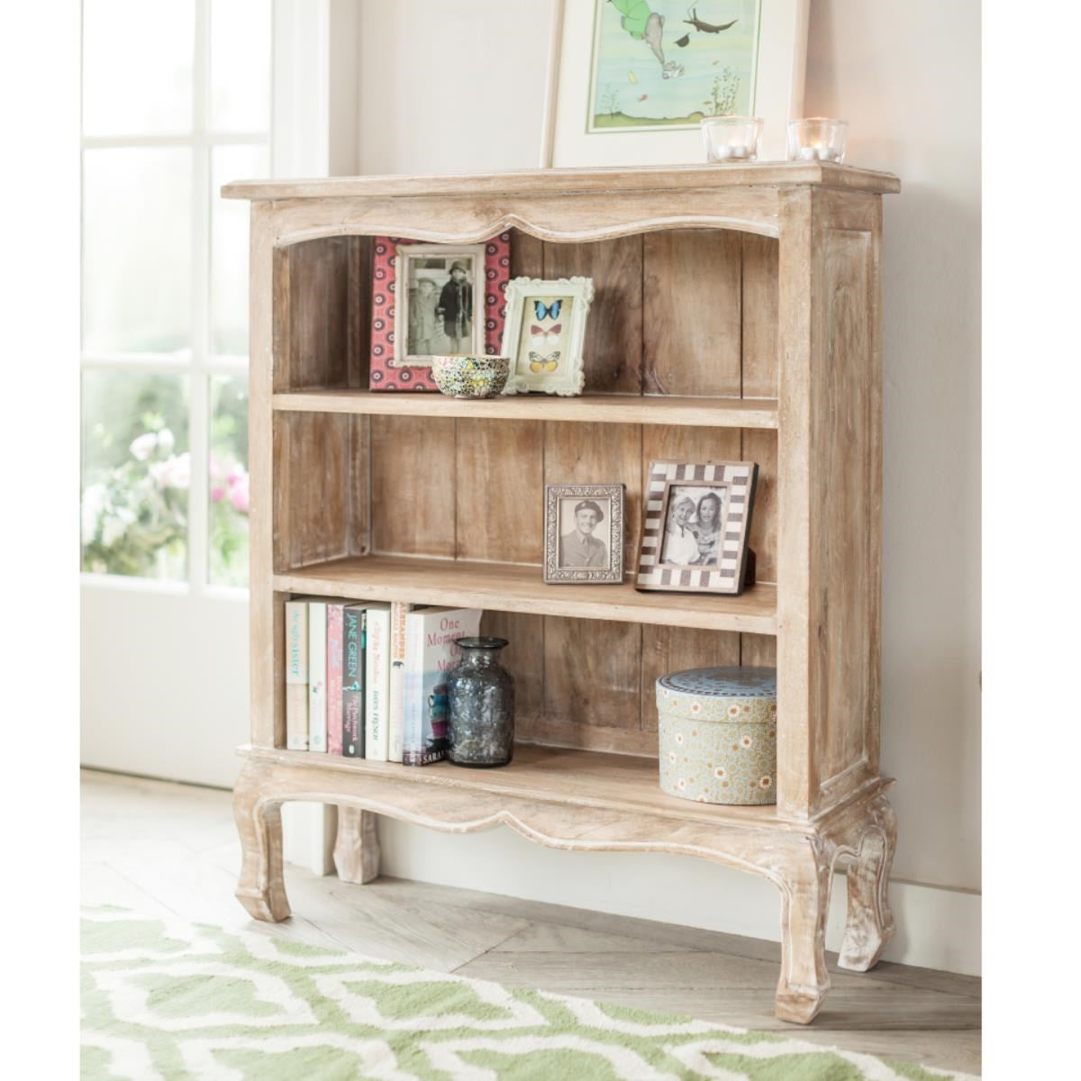 Bookcase Wooden — Edelweiss ( Wide )