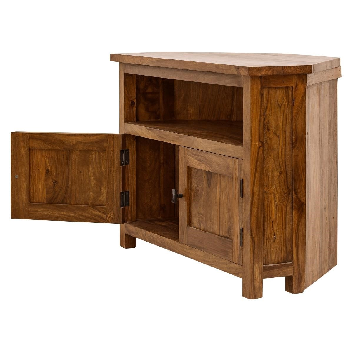Wooden TV Unit - CORNER ( Marigold Collection )