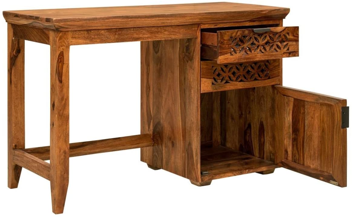 Wooden Study Table - Camellia Collection