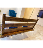 Swing wooden (Brass coated) Jhula —  SUPYAR