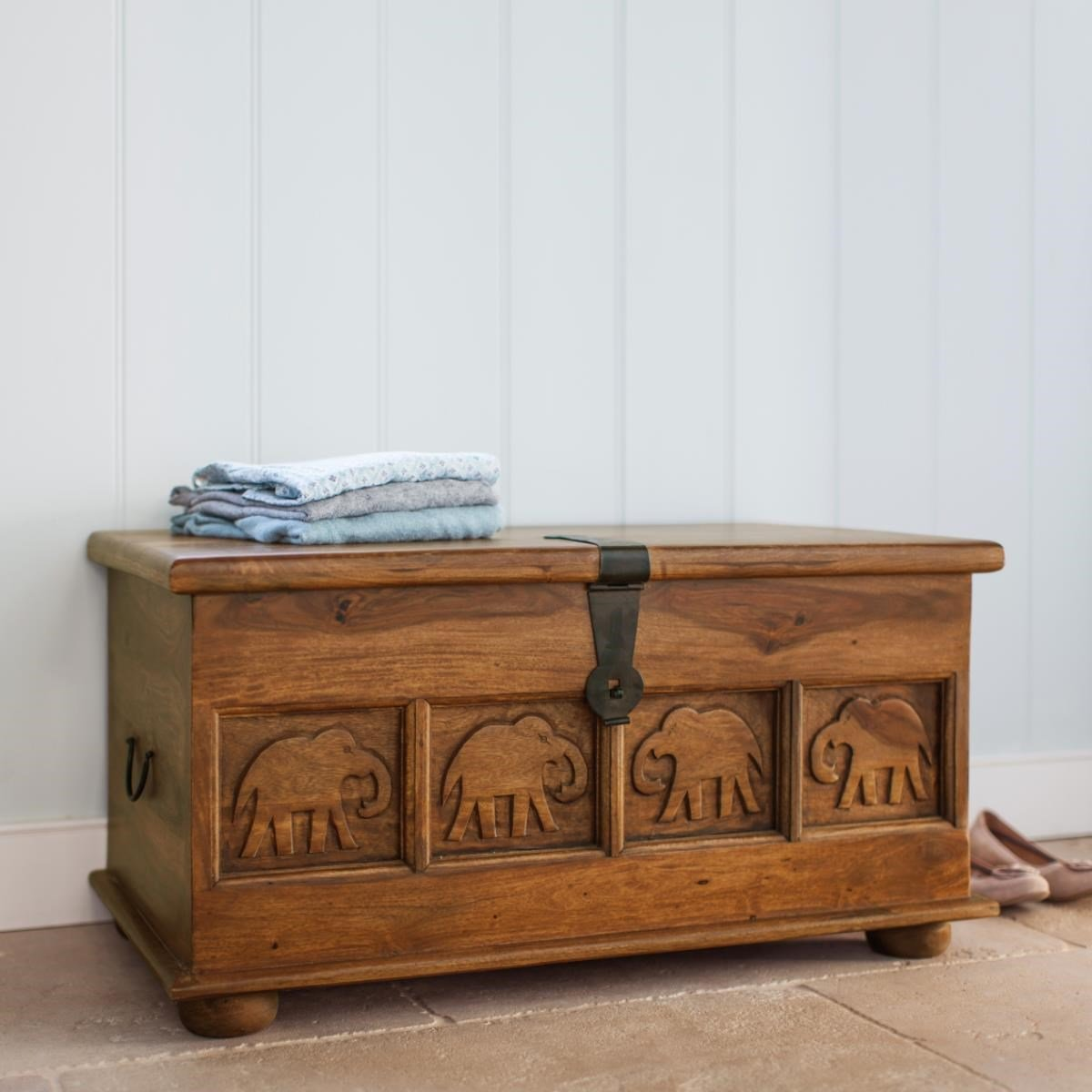 Wooden Trunk - Marigold Collection
