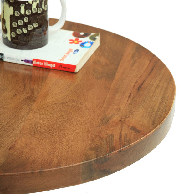 Coffee Table Wooden  — AREZZO ROUND