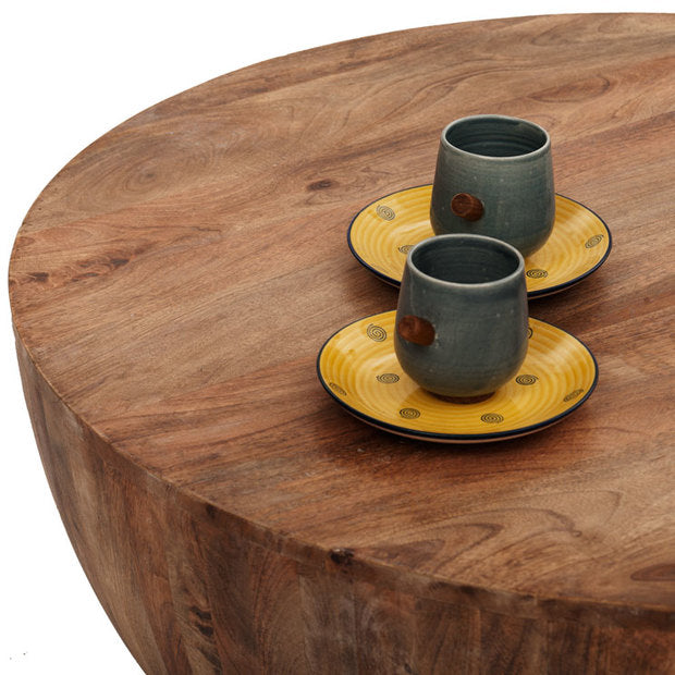 Coffee Table Wooden  — DRUM