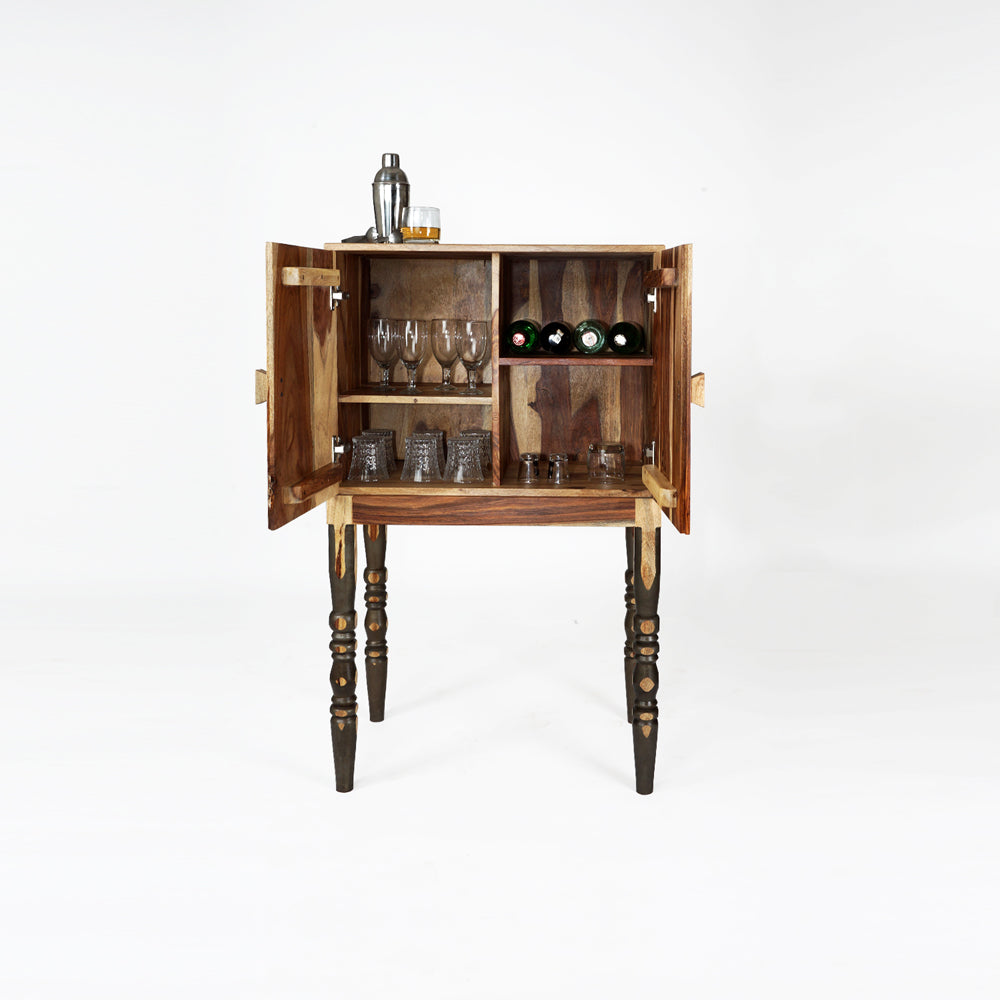 Bar Cabinet Wooden — Supine