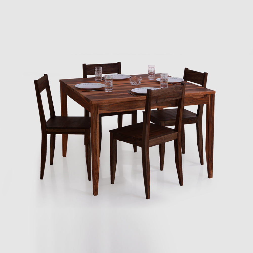 Dining Table Set Wooden — Idyllic
