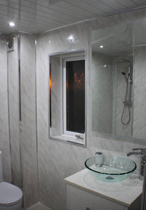 Wet Wall Marble Light Grey