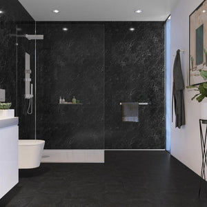 Wet Wall Black Marble