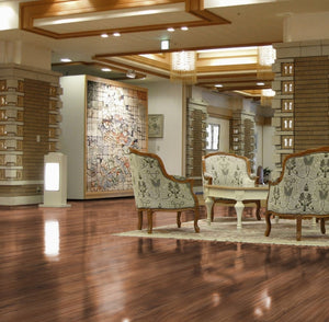 Gloss Walnut Flooring