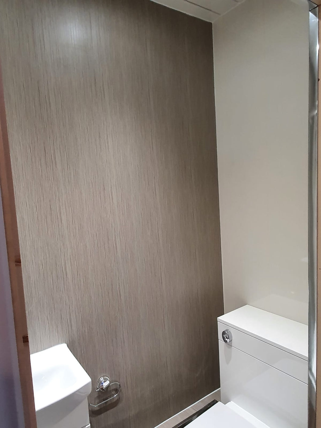 Abstract taupe wet wall