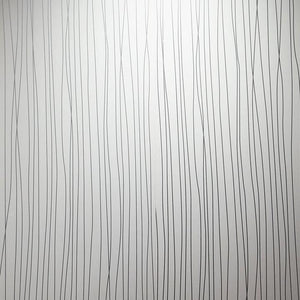 Wet wall white string