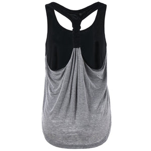Women's Scoop Neckline Racerback Tank Top