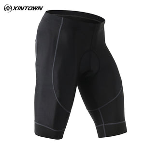 Xintown Men's Sports Compression Stretch Tight Padded Cycling Shorts