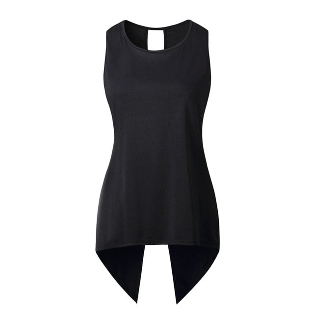Women's Criss-Cross Sleeveless Backless Blouse