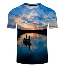 Load image into Gallery viewer, Men's 3D Funny Fish Printed T-Shirt