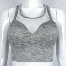 Load image into Gallery viewer, Women's Padded Sports Bra Fitness Gym Top