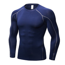 Load image into Gallery viewer, Men's Quick Dry Compression Sport Shirt Running Gym Demix Sportswear